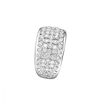 Anillo 'Flower Explosion' Oro blanco y diamantes