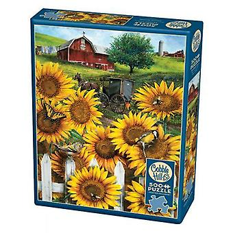 Cobble hill puzzle - country paradise - 500 pc