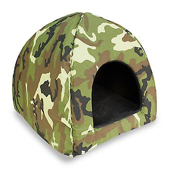 Arquivet 45x45x40 cm igloo Camouflage (Cats , Bedding , Igloos)