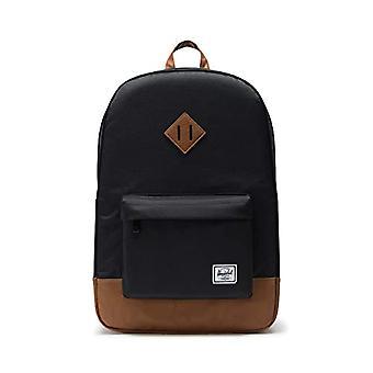 Herschel 10007-00055 Heritage Black/Tan Synthetic Leather