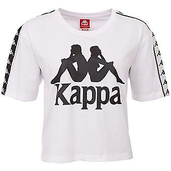 Kappa Elin - Damen T-Shirt, Damen, T-Shirt, 305028, 001 Weiß, L