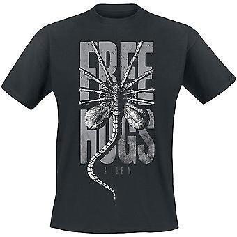 Alien Unisex Adult Free Hugs T-Shirt