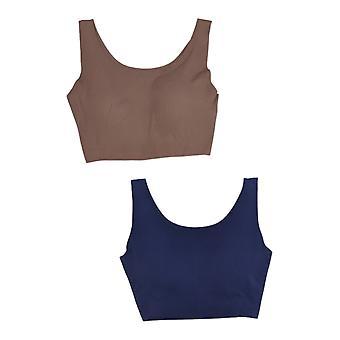 Rhonda Shear One 2-Pack Full-Coverage Body w/ Pads Blue Bra 634003