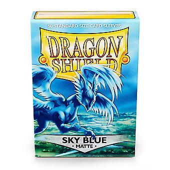 Dragon Shield Standard Matte Sky Blue Card Sleeves - 60 Sleeves