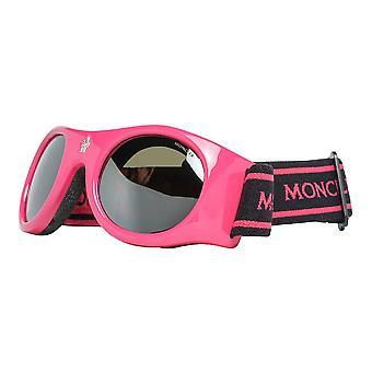 Unisex Sunglasses Moncler ML0051-74C Pink (55 mm)
