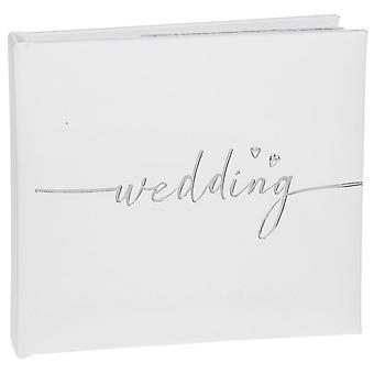 Modern Script Wedding Album (Large) 4x6