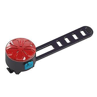 自転車の防湿テールライト、USB充電安全警告灯(赤)