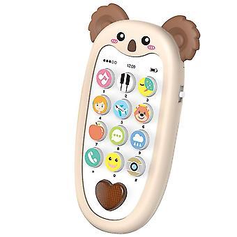 Könnyű és zenei kétnyelvű megvilágosodás rajzfilm telefonos mese ismeretterjesztő játékok(Color-3)