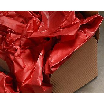 ÚLTIMOS POCOS - 5 hojas de papel de seda rojo de la mejor calidad | Suministros de envoltura de regalo