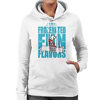 ICEE Frozenated Fun Flavors Women's Hooded Sweatshirt
