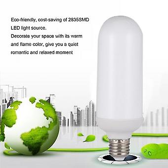 E27 5w/6w 1500k Led Flame Bulb Flickering Effect Flameless For Hotel/bars/home