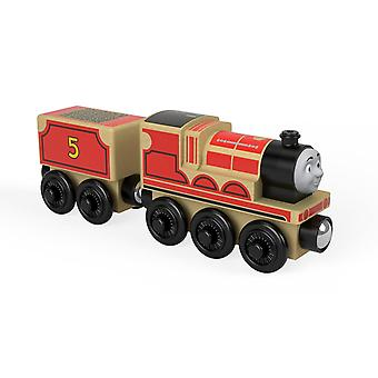 Thomas & Friends FHM40 Wood James, Thomas the Tank Engine Wooden Toy Engines, Toy Train, 3 Year