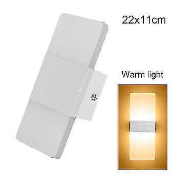 Led light bulbs led wall light-up down cube indoor outdoor sconce lighting lamp fixture decor hr 4