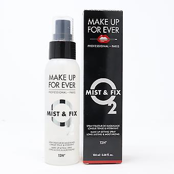 Make Up For Ever Mist & Fix Makeup Setting Spray  3.38oz/100ml New With Box