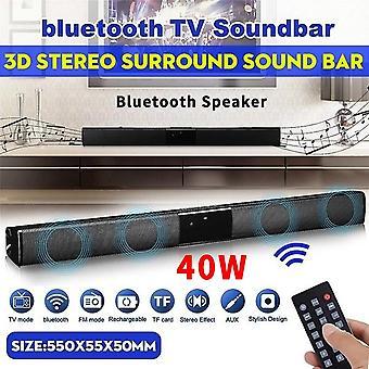 40w Bluetoothスピーカーカクシア・デ・ソムワイヤレススピーカーサウンドバースピーカーコンピュータレリアのテレビスピーカーホームシアターサウンドバーシステム