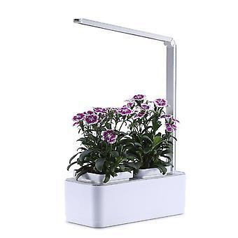 屋内水耕栽培デスクランプ、ハーブガーデンキット、多機能スマートフラワーと野菜成長ランプ