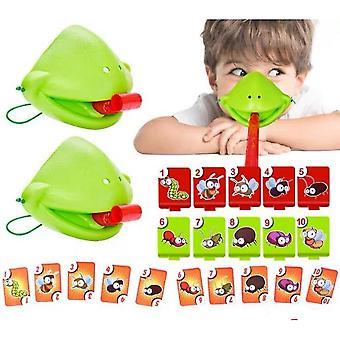 Venalisa Tic Tac Zunge PC-Brettspiel Eidechse Zunge Essen Pest Spiel Spielzeug für Kinder