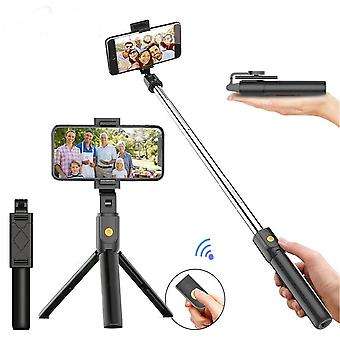 Selfie Stick Bluetooth Monopod Extensível com Bluetooth Remote Shutter Android/ios Mobile Phone Universal