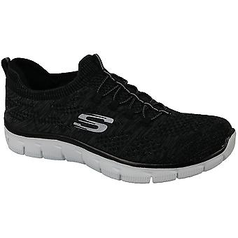 Skechers Empire 12418-BKW Womens sneakers