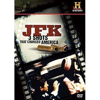 Importación de Estados Unidos JFK-3 disparos que cambiaron América [DVD]