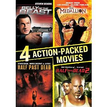 4 actionfyllda filmer Collection [DVD] USA import
