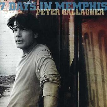 Peter Gallagher - 7 dagen in Memphis [CD] USA import