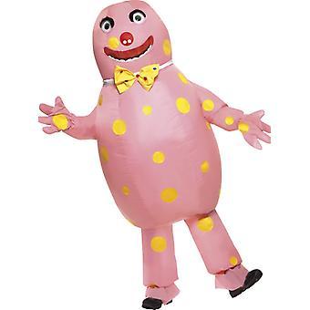 Mr Blobby kostým nafukovacie Blobby kostým