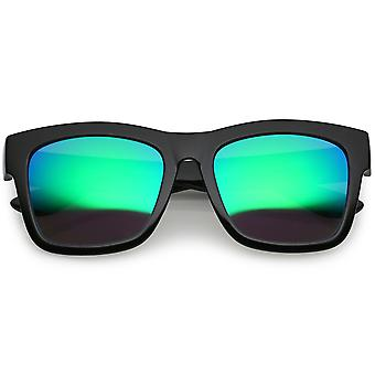 Lebensstil Super Dick Horn umrandeten Sonnenbrille dick Waffenplatz Spiegel Objektiv 54mm