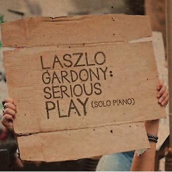 Gardony*Laszlo - Serious Play (Solo Piano) [CD] USA import