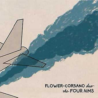 Flower-Corsano Duo - Four Aims [CD] USA import