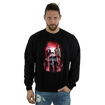 Supernatural Men's Group Crowley Sweatshirt