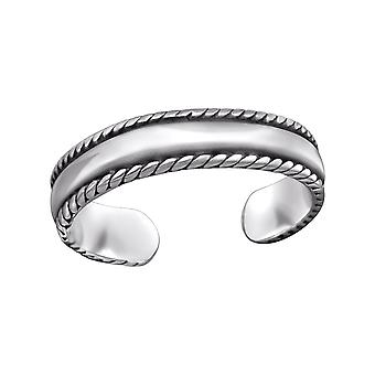 Band - 925 Sterling Silver Toe Rings - W29411x