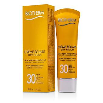 Biotherm Creme Solaire Spf 30 Dry Touch Uva/uvb Matte Effect Face Cream - 50ml/1.69oz