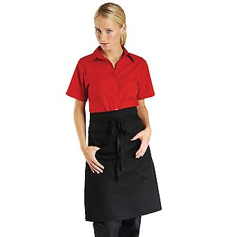 Dennys Unisex Adults Catering Waist Apron With Pocket