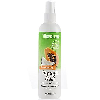 Tropiclean Natural Freshning Papaya Mist Deodorizing Pet Spray