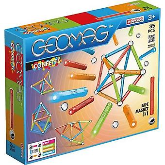 Geomag Confetti 351- 35 pcs Toys