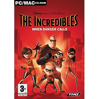 The Incredibles wanneer gevaar oproepen (PC CD)-fabriek verzegeld