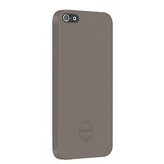 Ozaki O! Solid slim coat OC530LB 0.3 mm cover case iPhone 5 / 5S Brown