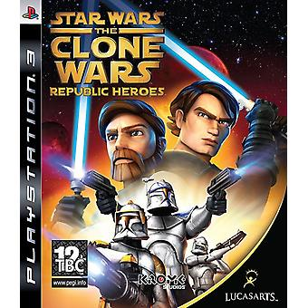 Star Wars The Clone Wars - Republic Heroes PS3 gra