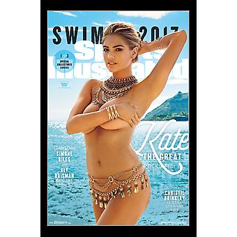 Sports Illustrated - Kate Upton Cover #2 2017 Poster afdrukken