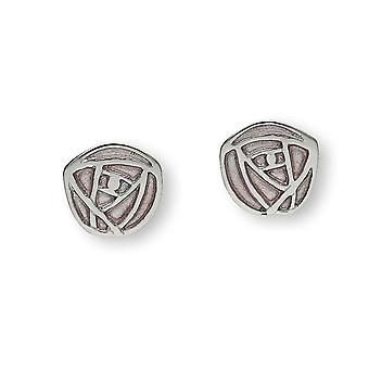 Sterling Silver Scottish Design Charles Rennie Mackintosh design Pair of Earrings - EE485