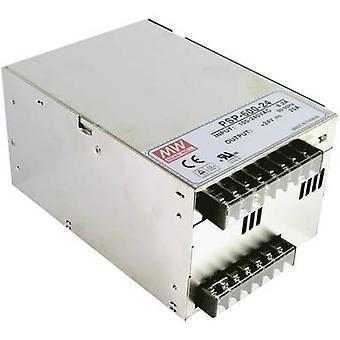 Mean Well PSP-600-12 AC/DC PSU module (+ enclosure) 50 A 600 W 12 V DC