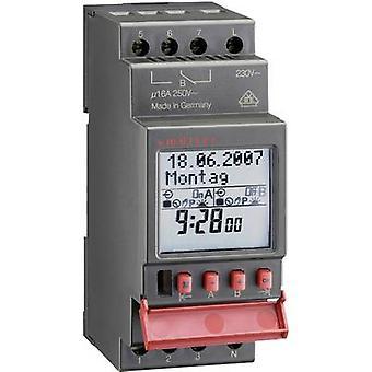 Müller SC 28,11 pro4 de montare pe șină DIN timer digital 12 V DC, 12 V C.A. 16 A/250 V