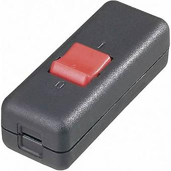 interBär 8010-004.01 Pull switch Black, Red 2 x Off/On 10 A 1 pc(s)