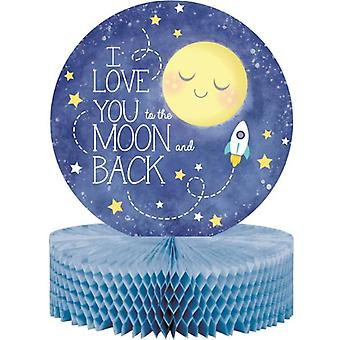 Moon love got the love baby shower table decorations 22.8 x 30.4 cm 1 piece children birthday theme party