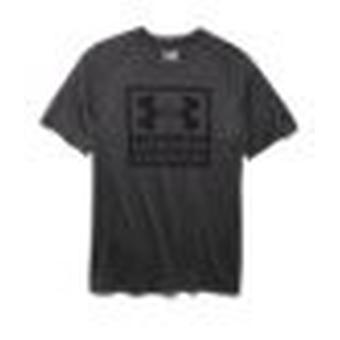 Herren T-Shirt UA Tech™ Boxed Logo Farbe: Carbon Heather