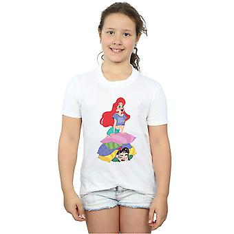 Disney Girls Wreck It Ralph Ariel And Vanellope T-Shirt