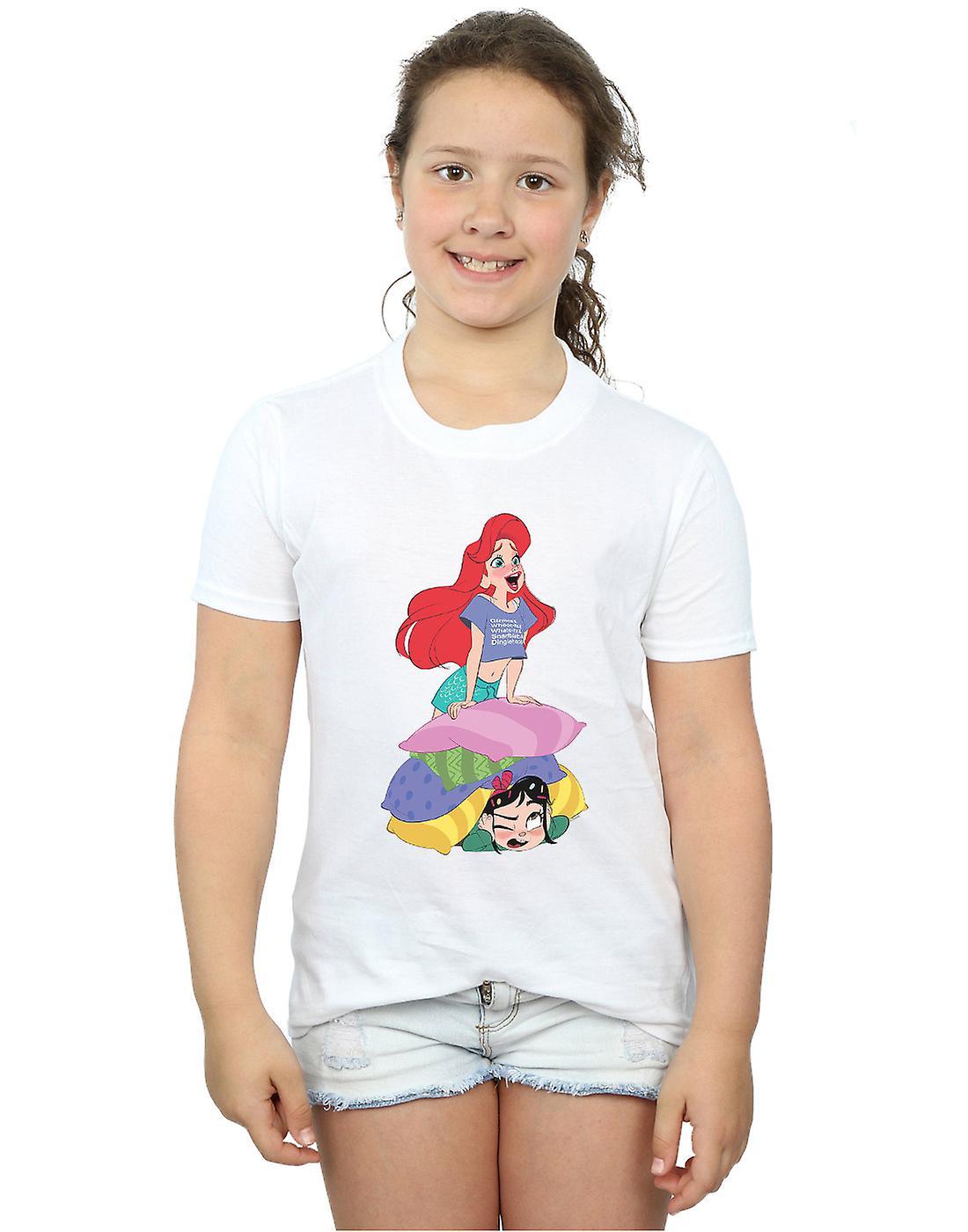 Disney Girls Wreck It Ralph Ariel And Vanellope T-Shirt