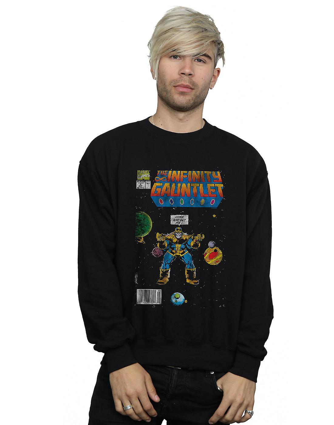 Marvel Comics Men's Infinity Gauntlet Sweatshirt
