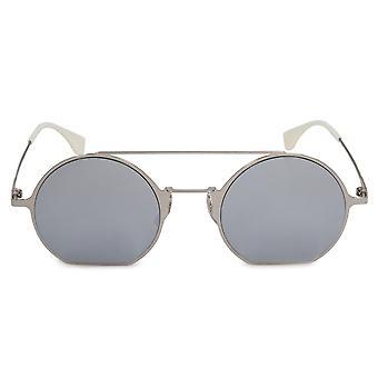 Fendi Eyeline FF0291 010 DC 48 Round Sunglasses